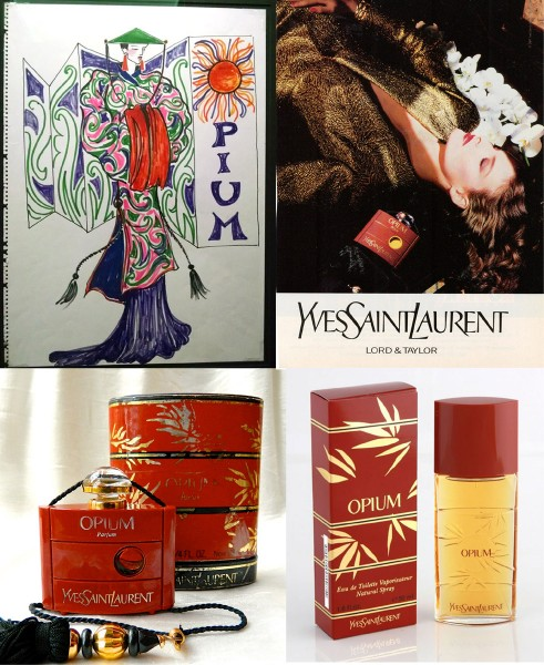 YSL Opium Perfume MET China