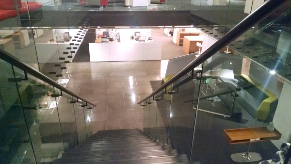 Steelcase stairs