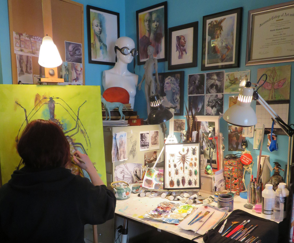 Painting Studio Garrott Designs 3