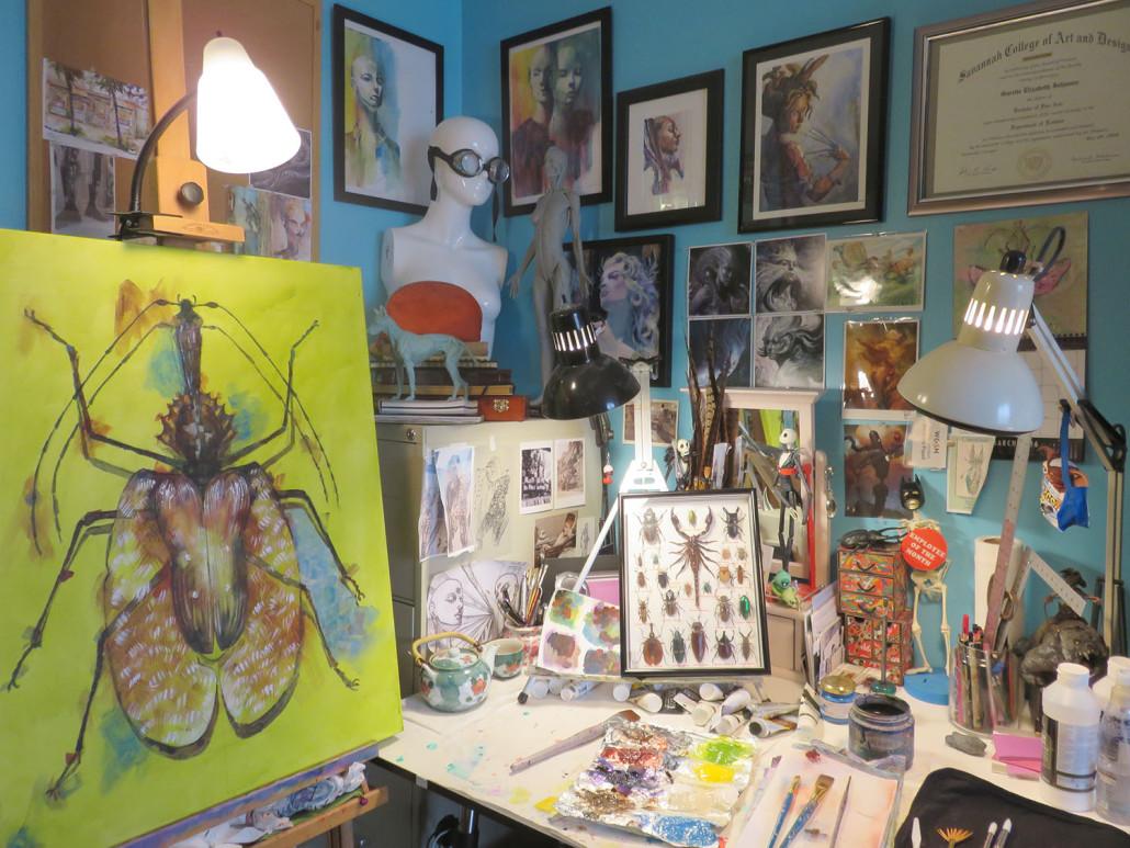 Painting Studio Garrott Designs 8