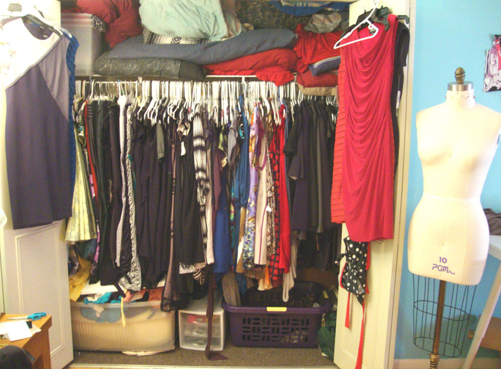 Cleaning a Designer's Closet
