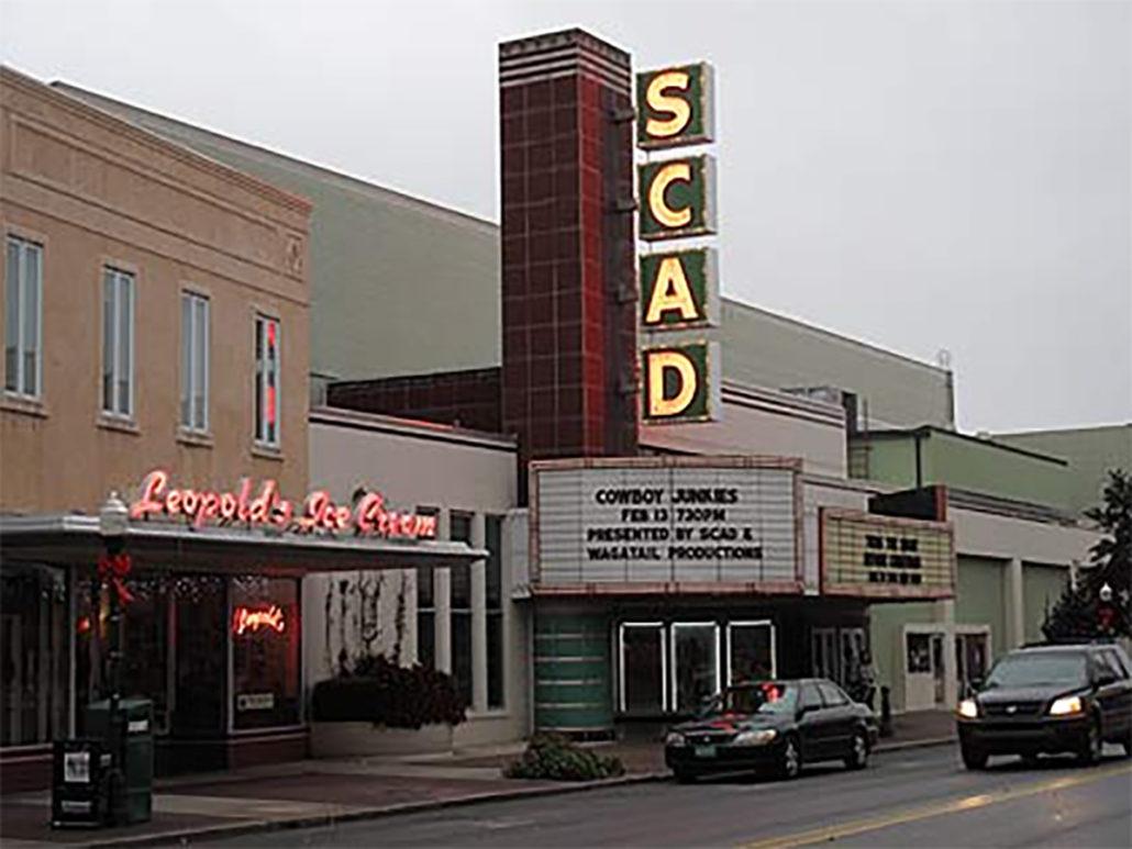 Savannah Urban Sketchers SCAD Theater 2