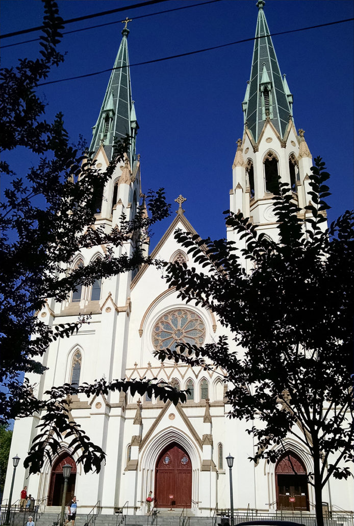 Savannah Urban Sketchers St John The Baptist Cathedral 2