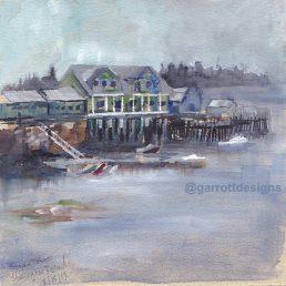 Stonington Maine Fishing Village