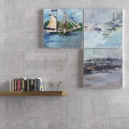Maritime Wall Art Decor Prints Watercolor