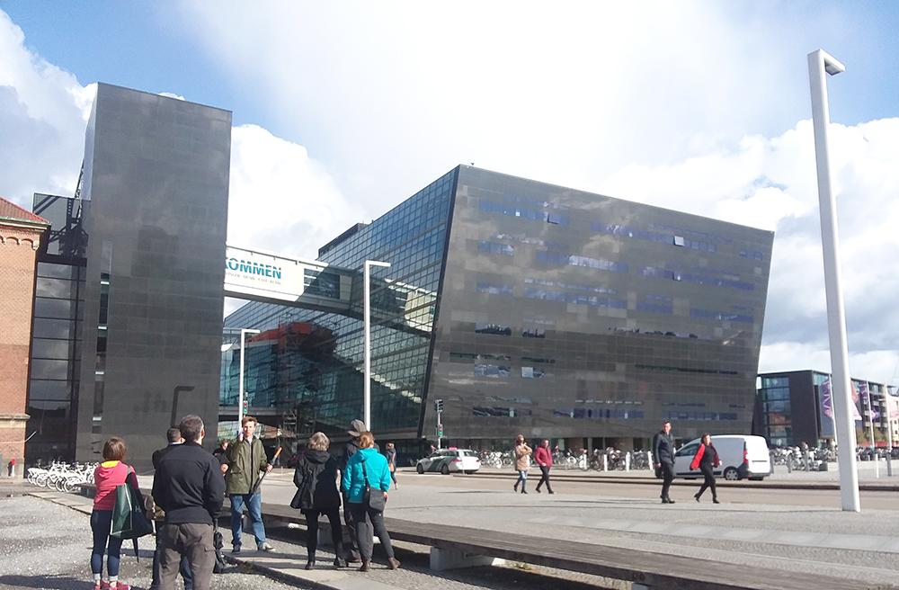 Black Diamond Sketching Architecture Design Copenhagen Denmark Art Culture Urban Planning Sustainability Sketchbook