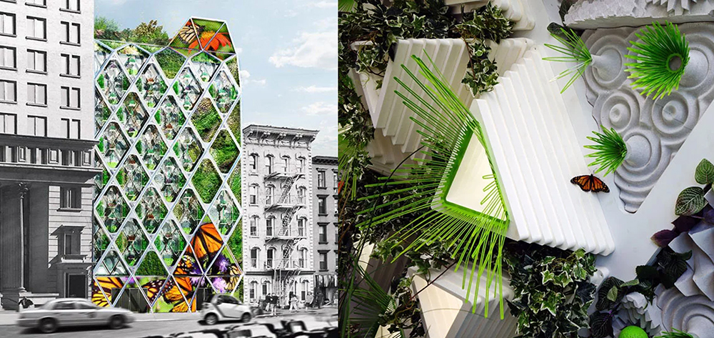 Terraform One Mitchell Joachim Butterfly Sanctuary Urban Design Ecology